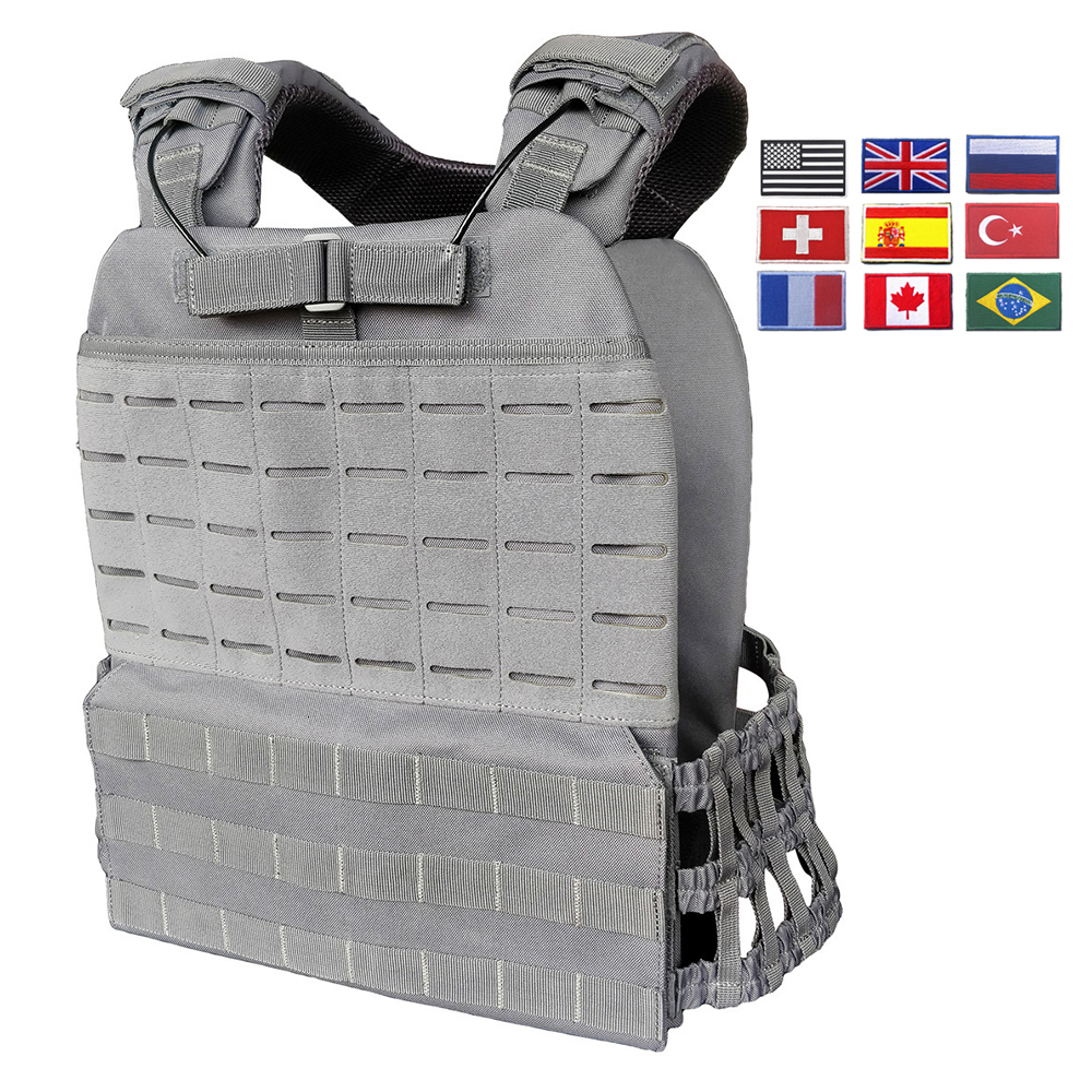 Training Military Tactical Vest For Men/Women Plate Carrier Body Armor Combat Army Chest Rig Assault Armor Vest Molle Airsoft|Hunting Vests| |  - title=
