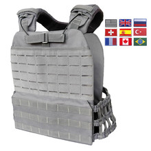 Training Military Tactical Vest For Men/Women Plate Carrier Body Armor Combat Army Chest Rig Assault Armor Vest Molle Airsoft(China)