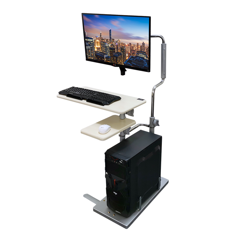 Bedside Desktop Computer Desk Home Folding Lift Table Lazy Table Simple Computer Desk Mobile Lifting Bracket