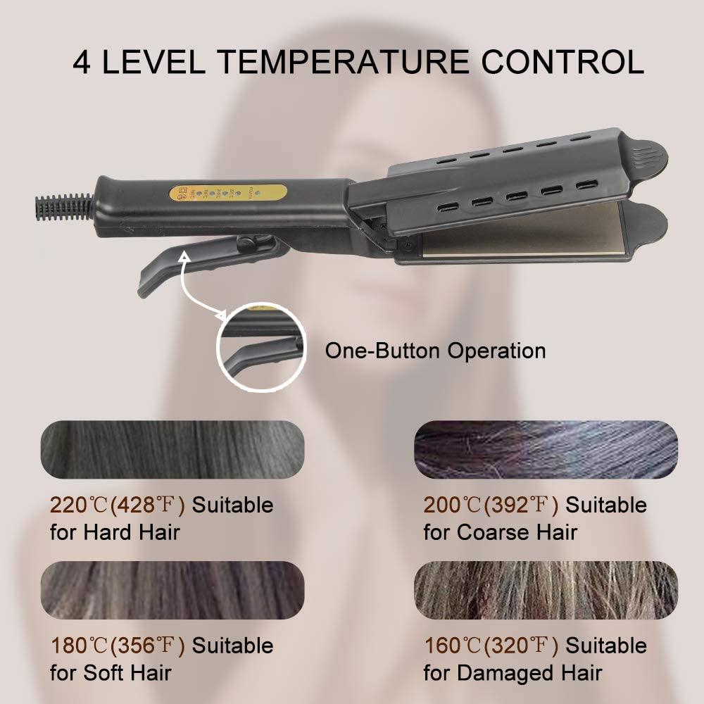 engrenagens alisador de cabelo escova alisamento 05
