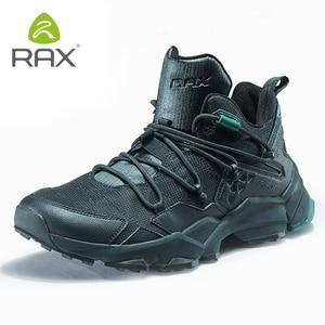 Image 1 - Мужская обувь для походов RAX, легкая Нескользящая амортизирующая Уличная обувь для мужчин, дышащие кроссовки для скалолазания, 423