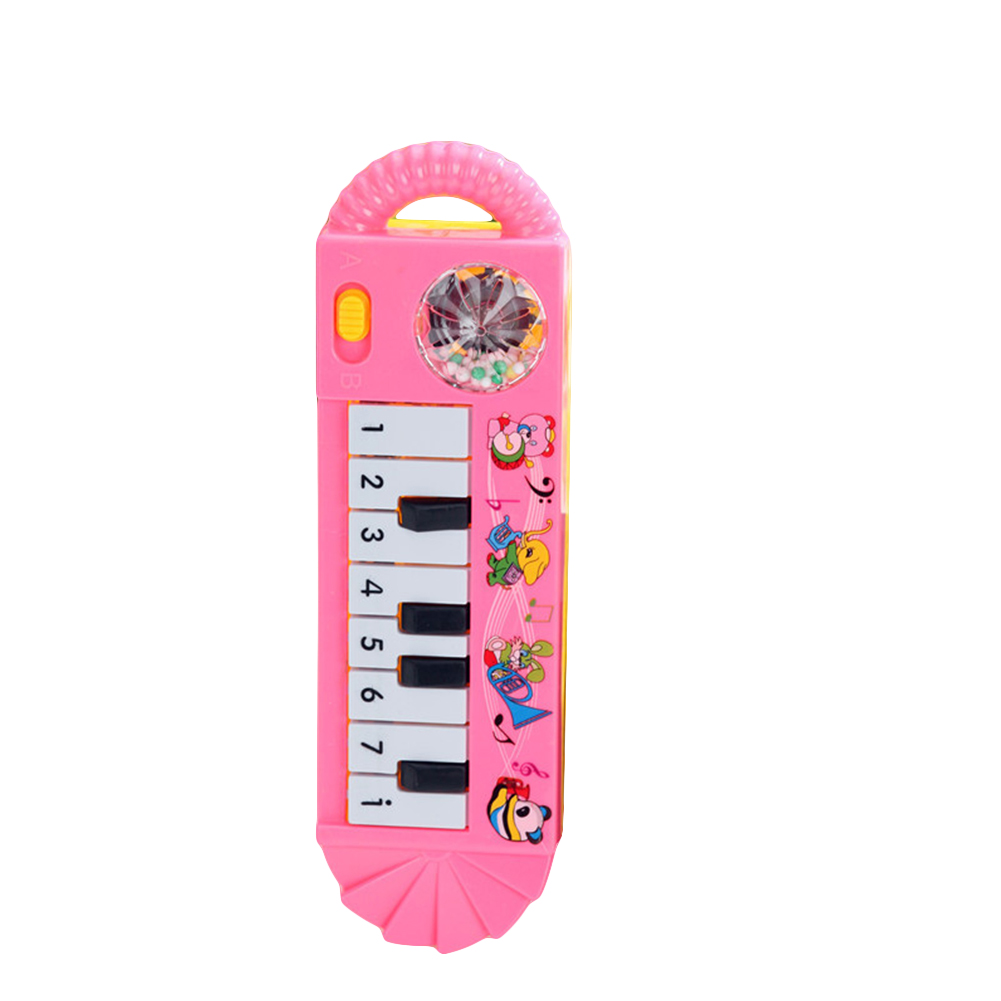Children Vocal Toy Baby Infant Toddler Kids Musical Piano Toys Kids Developmental Early Educational Toy Random Color 1