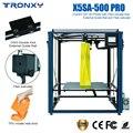 2019 TRONXY X5SA-500-PRO DIY 3D yazıcı büyük boy Ultra sessiz anakart kırılma algılama otomatik tesviye