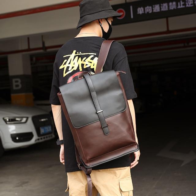 Vintage Men Casual Backpacks Travel Bag