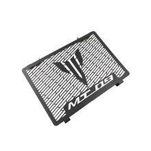 Capa protetora para radiador de aço inoxidável, para yamaha mt09 2014-2019 MT-09 900 gt FZ-09 xsr900 mt 09 novo