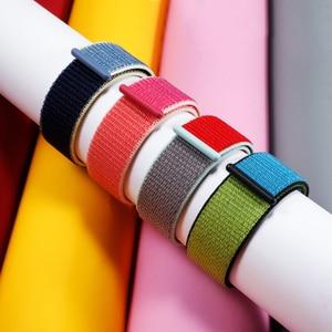 Нейлоновый ремешок для Apple watch, 5, 44 мм, 40 мм, iWatch Band 42 мм, 38 мм, спортивный ремешок для часов, Браслет Apple watch 4, 3, 2, 1, 38, 40, 44 мм