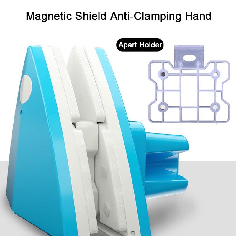 Регулируемый магнитный очиститель окон, двухсторонний стеклоочиститель, щетка для чистки, инструмент для мытья, для домашнего офиса, 4-32 мм, стекло для окон