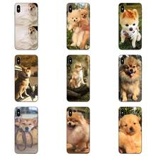 Soft Silicone TPU Black Cases For Huawei Honor 5A 6A 6C 7A 7C 7X 8 8A 8C 8X 9 9X 10 10i 20 Lite Pro Shibainu Dog(China)