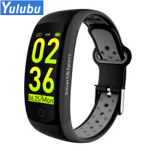 YULUBU Q6s 3D Dynamic UI Heart Rate Blood Pressure Support GPS Smart photo Stopwatch Waterproof Bracelet Wristband