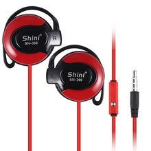 Dla xiaomi 3.5mm wtyk przewodowy hi fi stereo sport przewodowy zestaw słuchawkowy subwoofer słuchawki douszne regulowane słuchawki