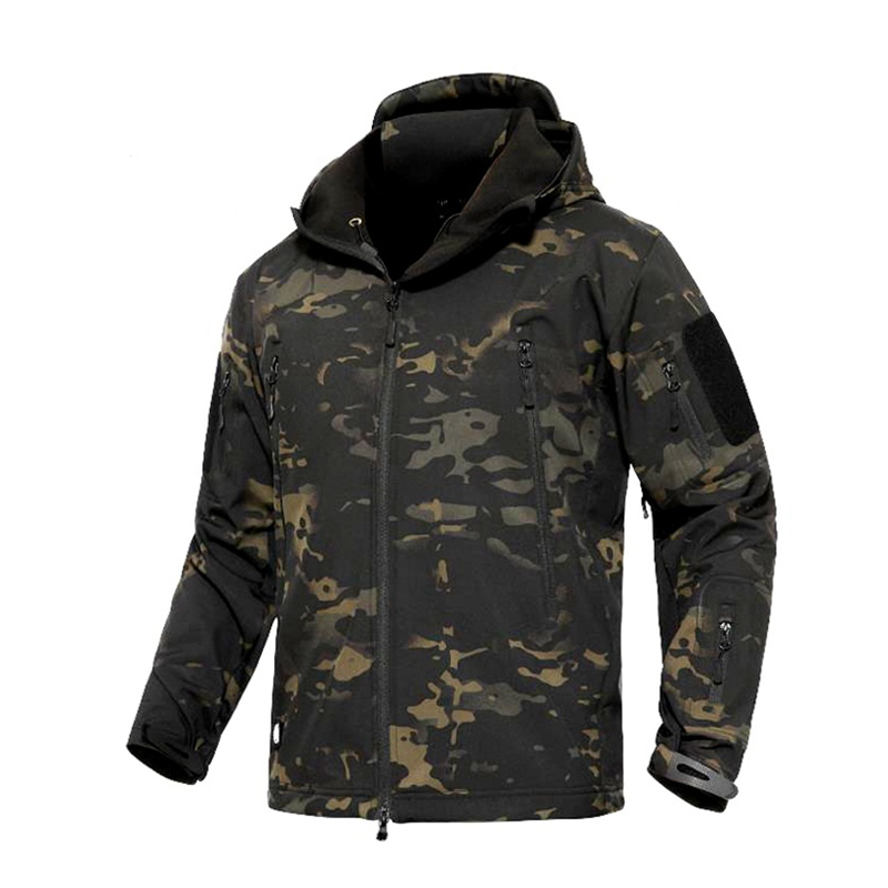 2019 MCBK Combat Softshell Jacket TAD Multicam Black Softshell Hoody Thermal Jacket TAD Jacket Tactical Softshell Jacket