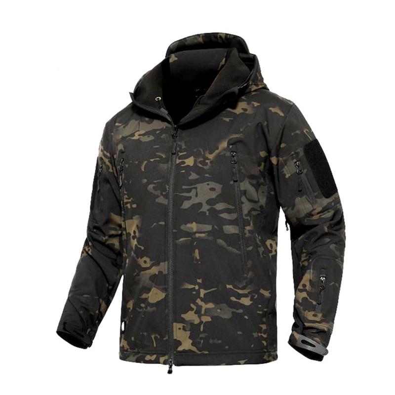 2019 MCBK Combat Softshell Jacket TAD Multicam Black Softshell Hoody Thermal Jacket TAD Jacket Tactical Softshell Jacket