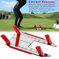 Golf Swing Trainer Teaching Equipment Auxiliary Swing Exercise Posture Corrective Tool