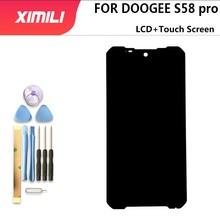 5.71 inch Doogee S58 PRO LCD Display+Touch Screen Digitizer Assembly 100% Original LCD+Touch Digitizer for DOOGEE S58 PRO+Tools