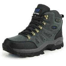 Outdoor Waterproof Hiking Boots Men Women Winter Shoes Walking Jogging Hiking Shoes Mountain Sport Boots Climbing Mens Sneakers