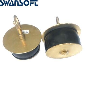 "Brass scupper plug 232487 Scupper Plug , Size : d 135 x D 160 x I 65 x L 160mm (6"") (Brass)"