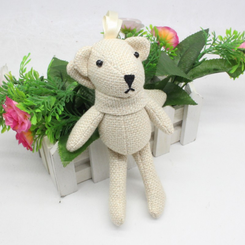 16cm-Plush-Toys-linen-Teddy-Bear-Rabbit-Soft-Stuffed-Animal-Toys-Small-Pendant-By-Phone-Bags (4)