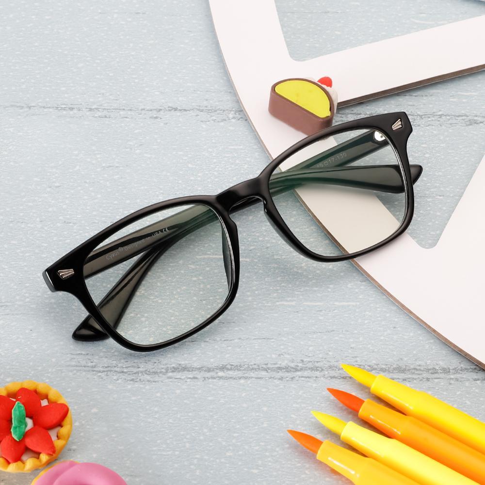 Cyxus Blue Light Blocking Kids Computer Glasses Children Teens Lightweight TR90 Frame Eyewear For Boys Girls Ages 9~15 6082