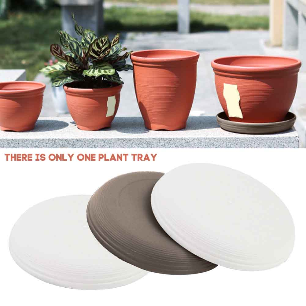 Pallets Drip Tray Plant Saucer Flower Pot Container Home Garden Indoor Outdoor