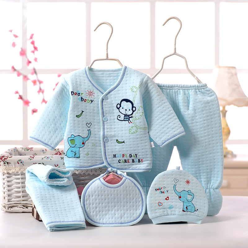 Infant Thermal Underwear Pure Cotton Men And Women Baby Autumn & Winter Newborns Clothes Childrenswear