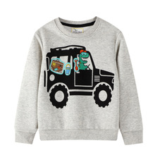 Sweater Pullover Long-Sleeve Terry Cotton Children's Winter Autumn 3092 Top Knitted