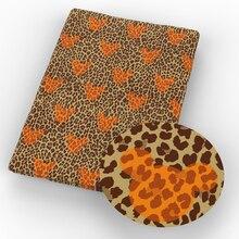 50*140 см полиэфирная хлопковая ткань с мультяшным принтом для шитья, Лоскутная Ткань для рукоделия, материал ручной работы, 1Yc9607