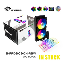 Water-Cooling-Kit Cooler GPU Reference-Graphics-Card Bykski Nvidia Rtx B-FRD3090H-RBW