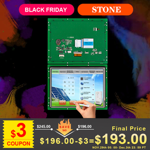 Image 1 - Embedded/ Open Frame Industrial Touch Screen 10.4 inch HMI with 3 Year Warranty