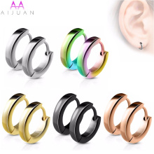 316L Surgical Stainless Steel Stud Earrings for Women Men Brincos Pend