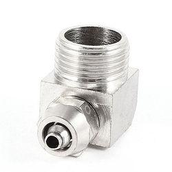 3/8PT z gwintem wewnętrznym 90 stopni szybkozłącze złącze dla 6mm x 3mm wąż powietrza w Złącza od Lampy i oświetlenie na