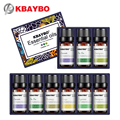 KBAYBO эфирные масла для ароматерапии диффузоры Лавандовый чай дерево Лимонная трава чайное дерево розмарин апельсиновое масло