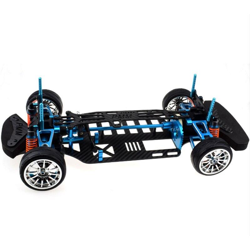อลูมิเนียมและคาร์บอนไฟเบอร์เพลาไดรฟ์ 1/10 4Wd สำหรับการเดินทางรถชุดสำหรับ Tamiya Tt01 Tt01E รถ-ใน ชิ้นส่วนและอุปกรณ์เสริม จาก ของเล่นและงานอดิเรก บน   3