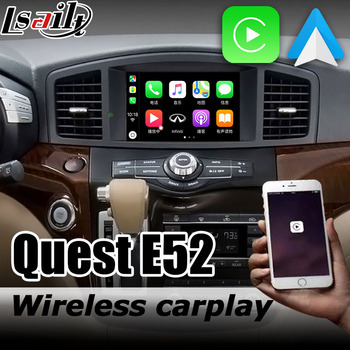 Carplay interface box for Nissan Quest E52 Highway star 2010-now with Murano Pathfinder Patrol Elgrand Android auto youtube play image