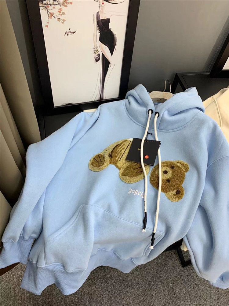 Autumn/Winter 2019 New Bear Costume  Printing Hoody Long  Sleeve For Men And Women