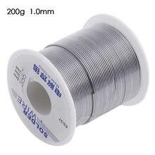Fio industrial 63/37/1.0mm da solda da ligação da lata de weldring do núcleo de 1.2 rosin