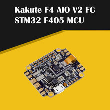 Hot Holybro Kakute F4 AIO All in One V2 Flight Controller STM32 F405 MCU Integrated PDB OSD for RC Drone FPV Racing Multi Rotor