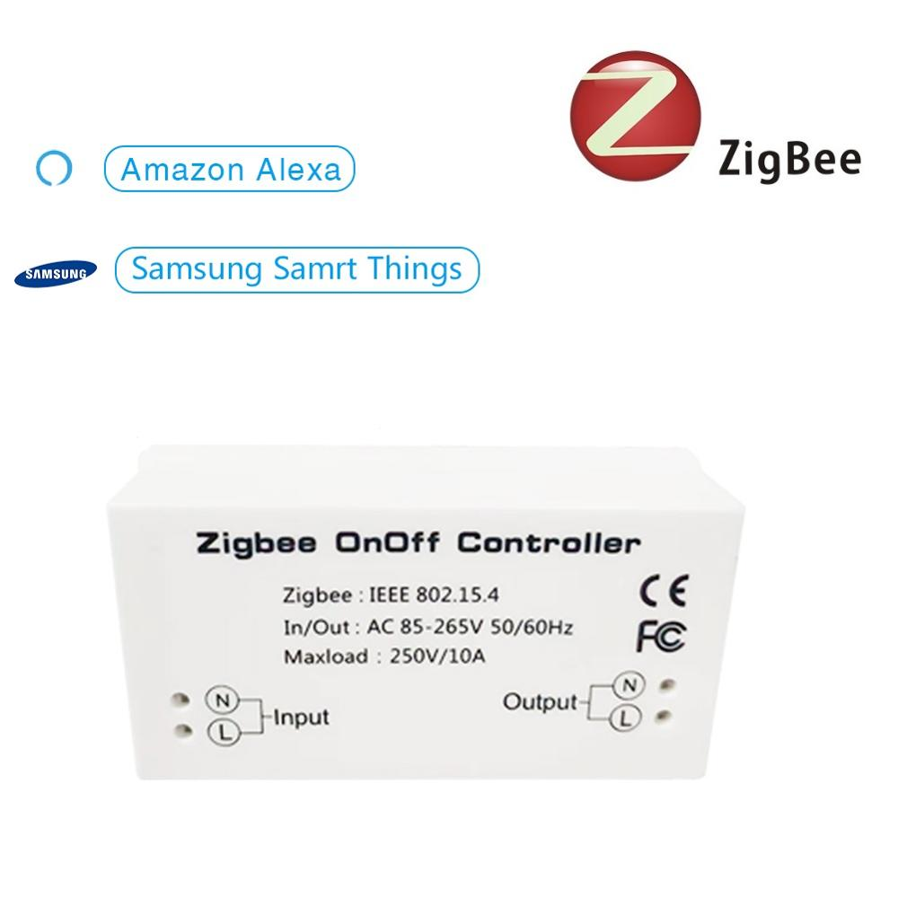 Zigbee Smart Home Switch Wireless Remote Control Timer Switch DIY Modules For Amazon Alexa SmartThings Wink Hub Zigbee HA Hub
