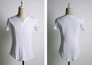 Image 2 - SuperStar Serie: G5008 latin modern ballroom dance professionelle elastische kristall baumwolle tops shirt für männer
