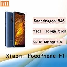Xiaomi poco f1 smartphone googleplay cep telefonu Snapdragon 845 6G 128G 2246*1080 piksel