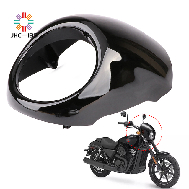 Motorcycle Headlight Headlamp Fairing Mask Cover Guard For Harley Davidson Street XG500 XG750 XG 500 750 2014 2015 2016
