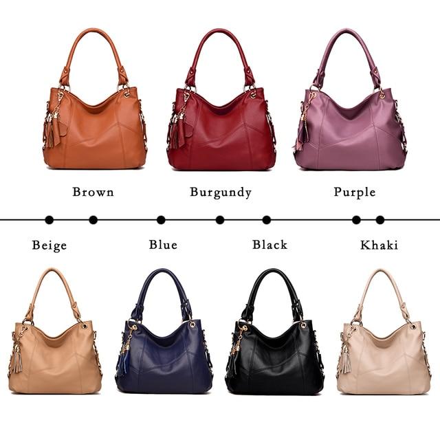 Lanzhixin Leather Shoulder Bag  1