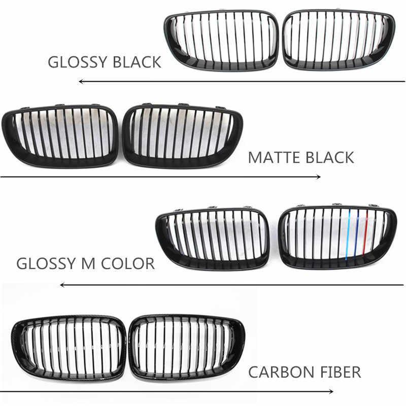 1 serisi E82 E88 ön ızgara ABS parlak M renk ızgarası için E87 E88 2008-2011 118i 118d 120i 120d 123d 125i 128i 130i