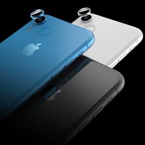 Image 5 - Arka kamera Lens ekran koruyucu için iPhone XR 6D temperli cam filmi + Metal arka Lens koruma halka kılıf kapak aksesuarları