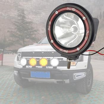 цена на 100W 12V Xenon HID Work Light Spot Beam ATV SUV Truck Cross-country Red Fog Light Work Lamp Off Road Light