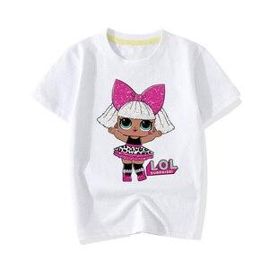Белая футболка с коротким рукавом для мальчиков и девочек, модные хлопковые топы для девочек