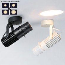 Led spotlight bar estágio câmera projeção spotlight zoom foco ajustável luz para vitrine mural fundo iluminação da parede