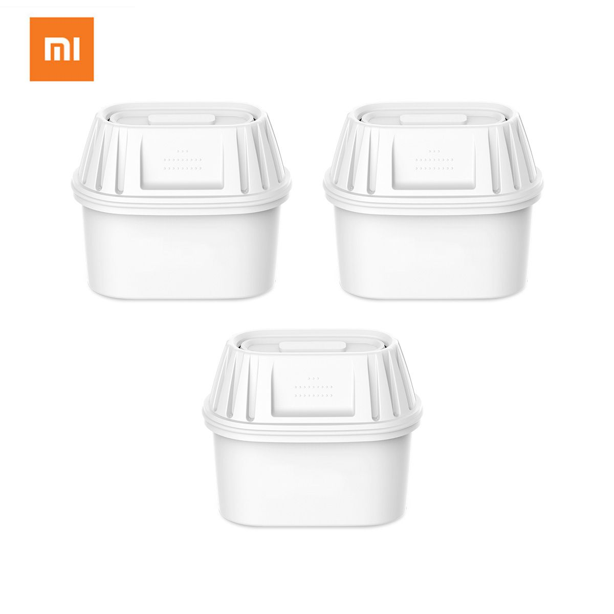 Xiaomi 3pcs Water Filter Pitcher Cartridge Potent 7-layer Filters For Mi Water Pitcher Double Bacteria Prevention 360 Degree
