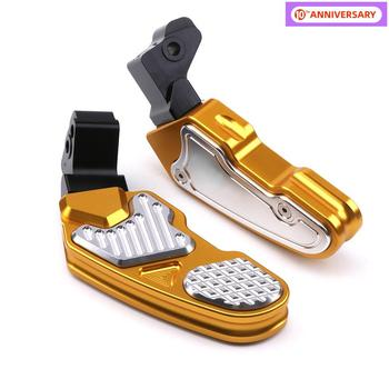 For Honda PCX 125 150 CNC Motorcycle Rear Foot Pegs Rests Pedal Passenger Footrest Pad Plate PCX125 PCX150 Scooter Accessories