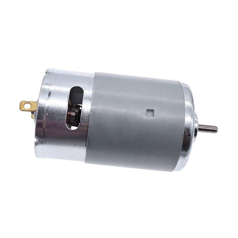 555 12V Brush motor DC motor RS555 High Torque Micro Motor 3000rpm/4500rpm/6000rpm/7500rpm