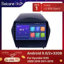 Seicane Android 9.0 2din Car Radio For 2009 2010 2011 2012 2015 Hyundai IX35 GPS Multimedia Player With Bluetooth OBD2 2GB RAM